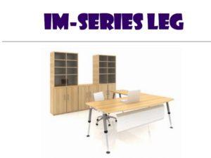 L Shape table - IM series leg 2