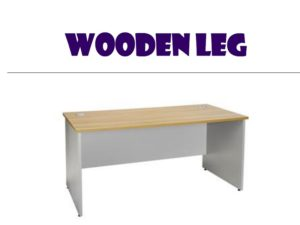 Rectangle Table - Wooden Leg & Maple top