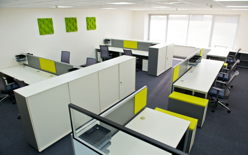 System Furniture Singapore Modular Desk Panel System
