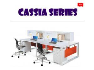 Desk System Furniture - Cassia Series