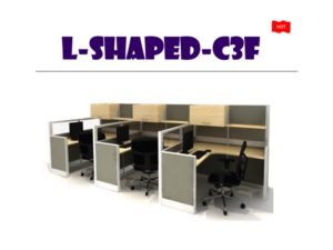 Panel System Furniture - L Shape C3F
