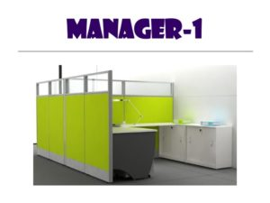 Panel System Furniture - Manager 1