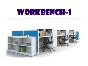 Panel System Furniture - Workbench 1