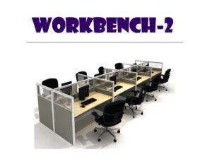 Panel System Furniture - Workbench 2