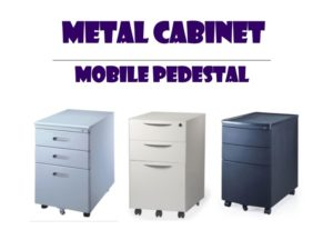Metal Office Cabinet - Mobile Pedestal