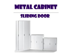 Metal office Cabinet - Sliding Door