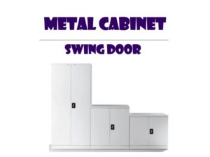 Metal Office Cabinet - Swing Door