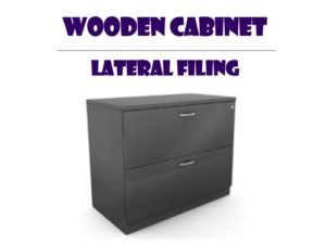 Wooden Filing Office Cabinet