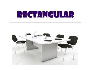 Conference Table - Rectangle Table with Chairs
