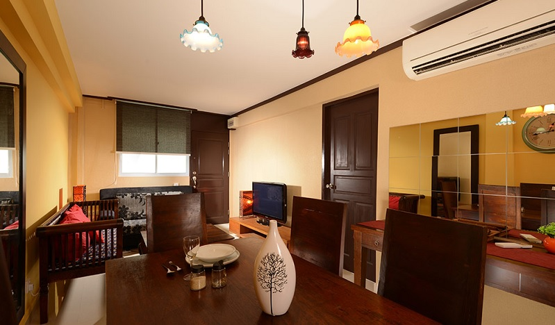 3 Room HDB Flat Renovation At Mei Ling Street