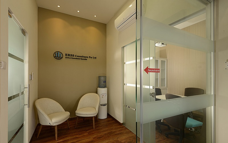 Office Partition - Glass Partition