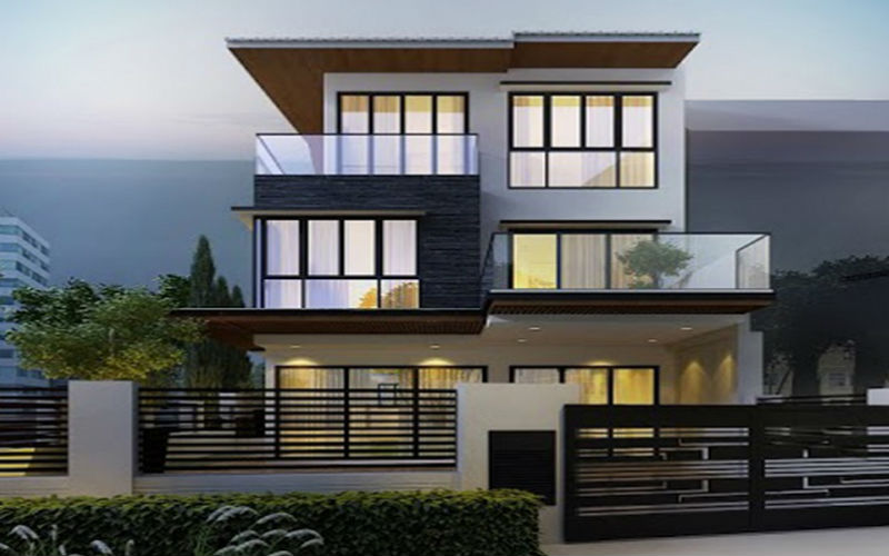 Bungalow House Design Modern Old Good Class Bungalow