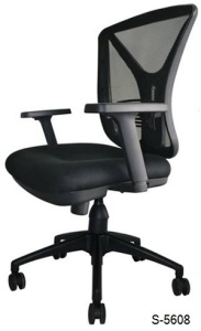 S-5608 Mid, High Back Office Chair