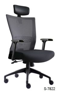 S-7822 Mid, High Back Office Chair