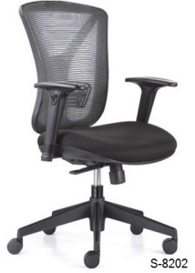 S-8202 Mid, High Back Office Chair