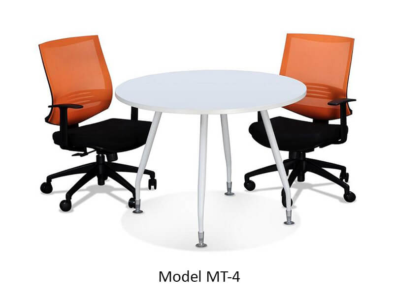 Conference Table Singapore Round Rectangle Oval Boat Shape - Round conference table for 4