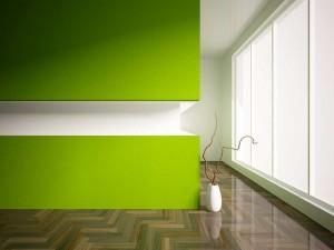Office wall/floor/windows
